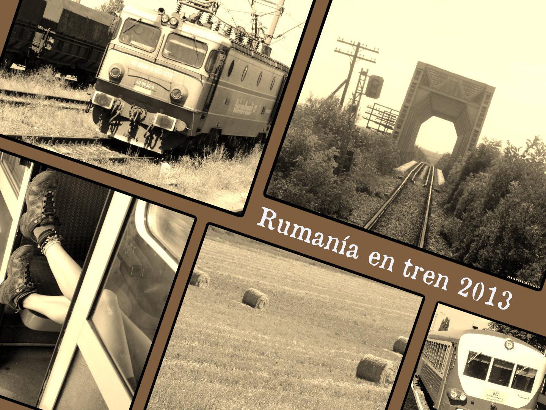 Rumania en tren