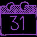 halloween-october-31-calendar-page-sketch