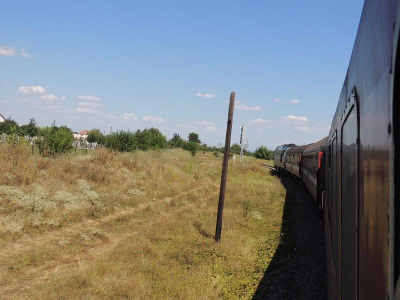 Rumania-Itinerario- Tren